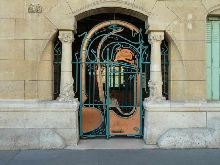 Castel Beranger by Hector Guimard – front gate | © SteveSilverman/Flickr