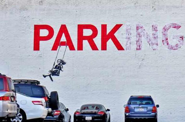 'Park(ing)' by Banksy | © Olga Berrios/Flickr
