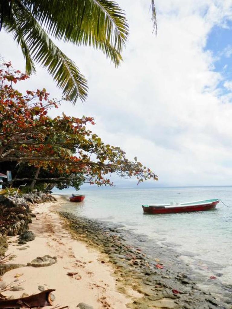 Caqalai Island Beach, Fiji I © Hannah Bergin