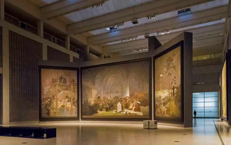 "Mucha's ""Slav Epic"" VI 