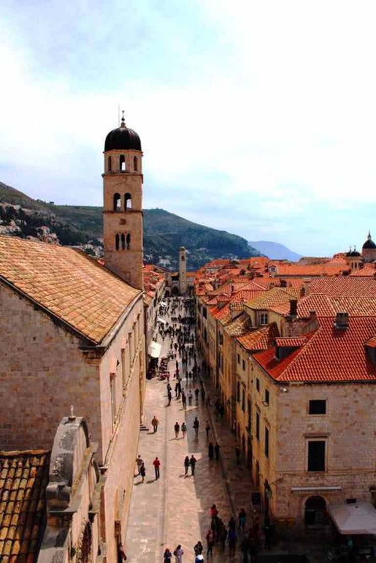 Stradun, Dubrovnik Old City © Rebecca Cairns