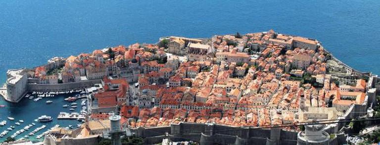 Dubrovnik from Mt. Srd © Rebecca Cairns