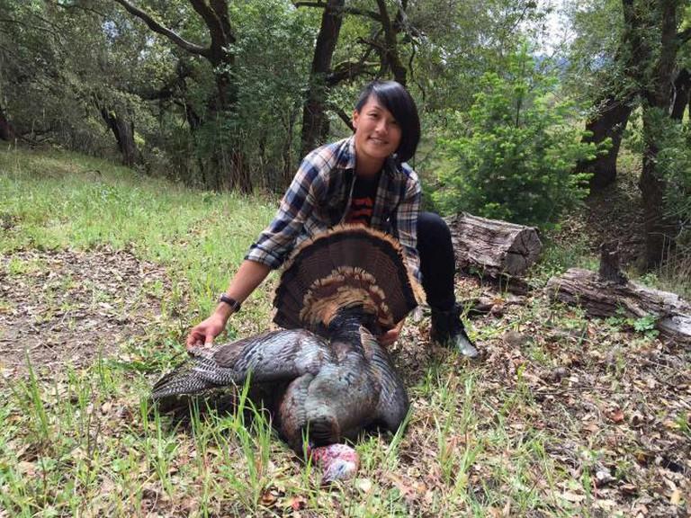 Melissa King on the hunt