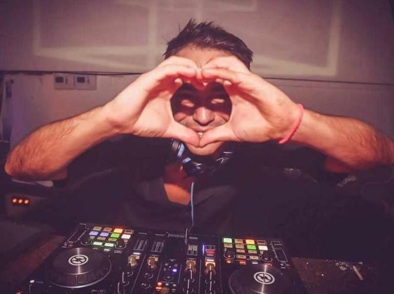 DJ at INK Courtesy Diego Pesoa