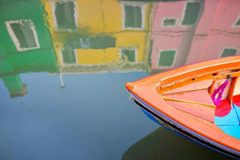 Reflection in Burano Canal | © Stefano Montagner/Flickr