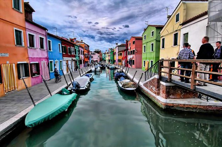 Burano Waterway | © Oliver Clarke/Flickr