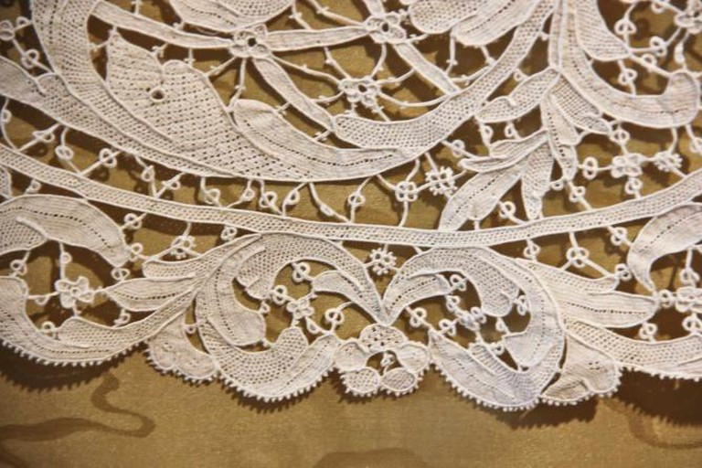 Lacework at the Merletto Lace Museum, Burano | © Avital Pinnick/Flickr