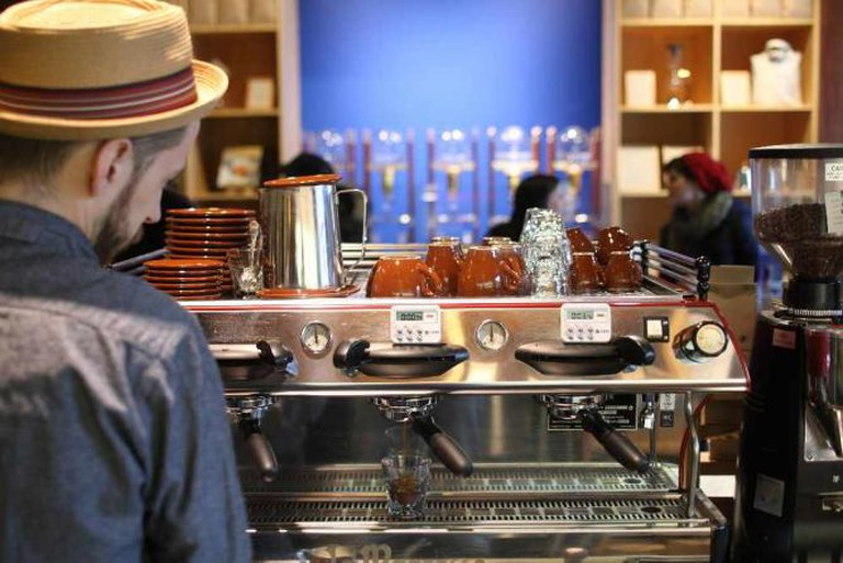 Blue Bottle Williamsburg | Image Courtesy of Blue Bottle