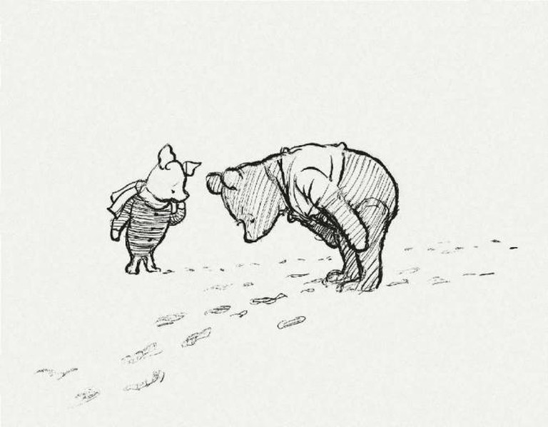 EH Shepard, illustration from the original 'Winnie-the-Pooh' | © Methuen & Co. Ltd