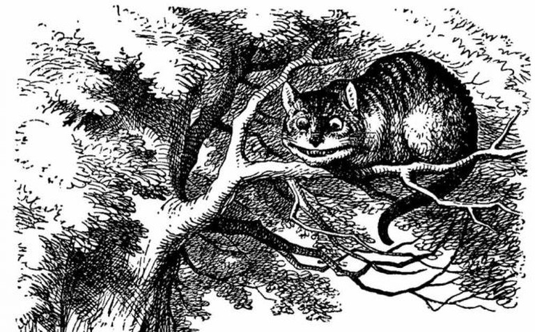 'Alice in Wonderland' illustration | Public domain