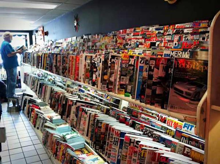 Magazines galore | © Keith Breitbach