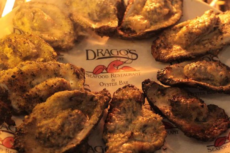 Drago's Charbroiled Oysters | Courtesy of Drago Restaurant