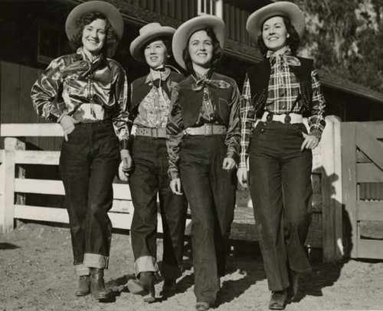 Cowgirls wearing Levi's Jeans © Levis