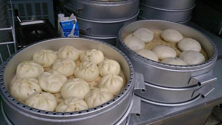 """""""Big Soup Bao"""" by ProjectManhattan - Own work. Licensed under CC BY-SA 3.0 via Wikimedia Commons -"""