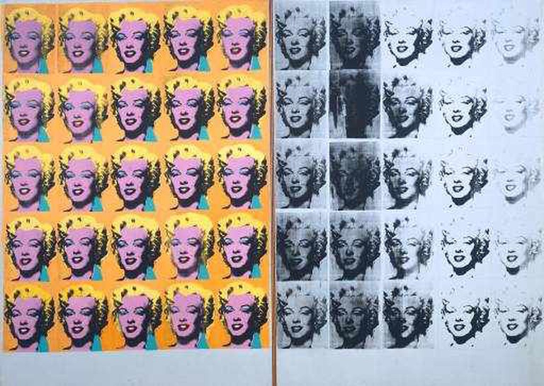 A Creative Commons Image: Marilyn Diptych© The Andy Warhol Foundation for the Visual Arts, Inc./ARS, NY and DACS, London 2015