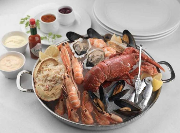 Assiette of Shellfish | Courtesy of Rogano