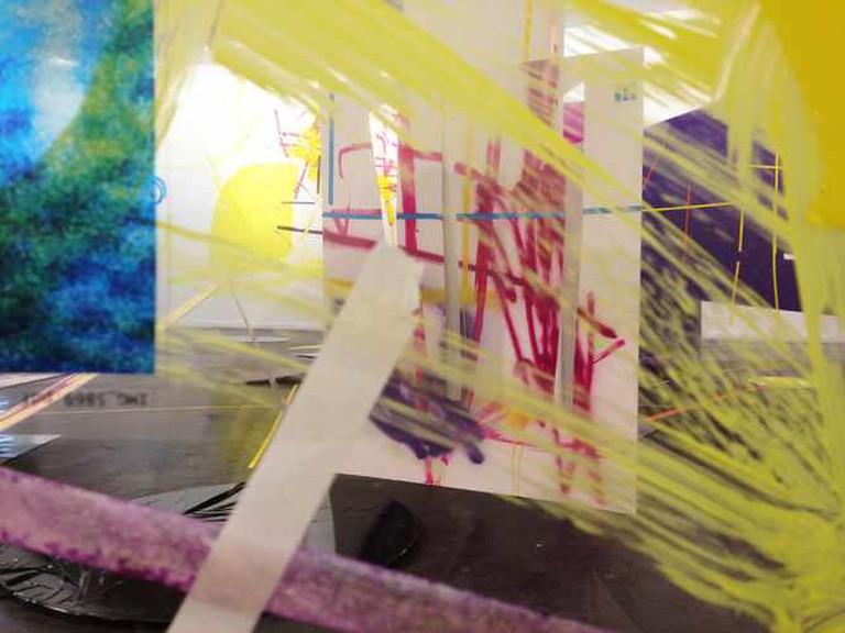 Site-specific installation. Raw Art Gallery, Tel Aviv. April 25- June 8 2013 | © Iva Kafri