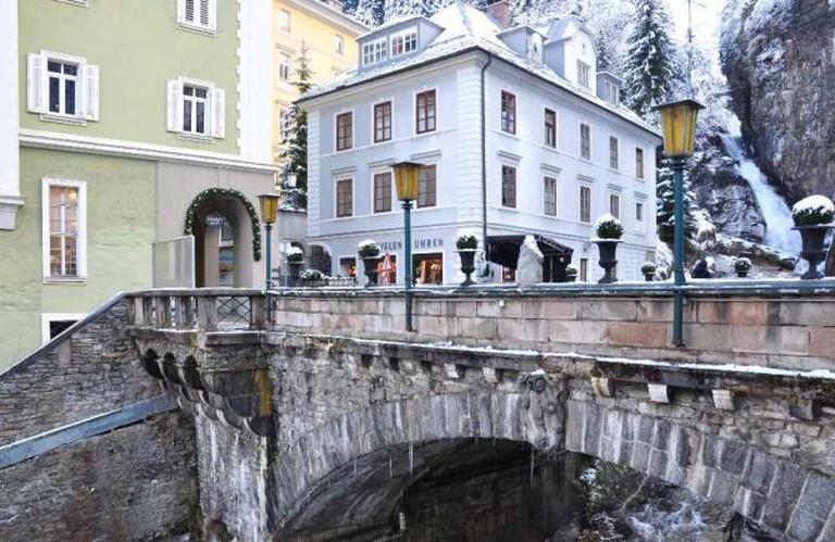 Wasserfallbrücke in Bad Gastein