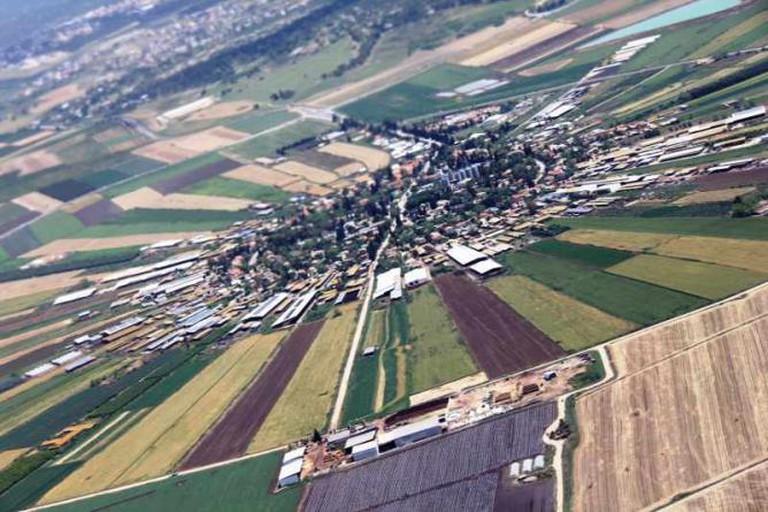 Moshav Nahalal in the Jezreel Valley