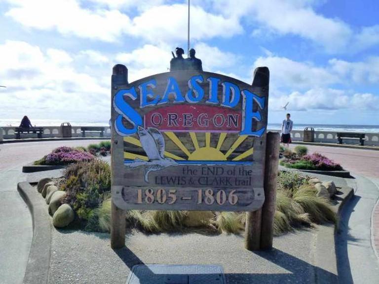 Seaside, Oregon sign | © Neeson Hsu/Flickr
