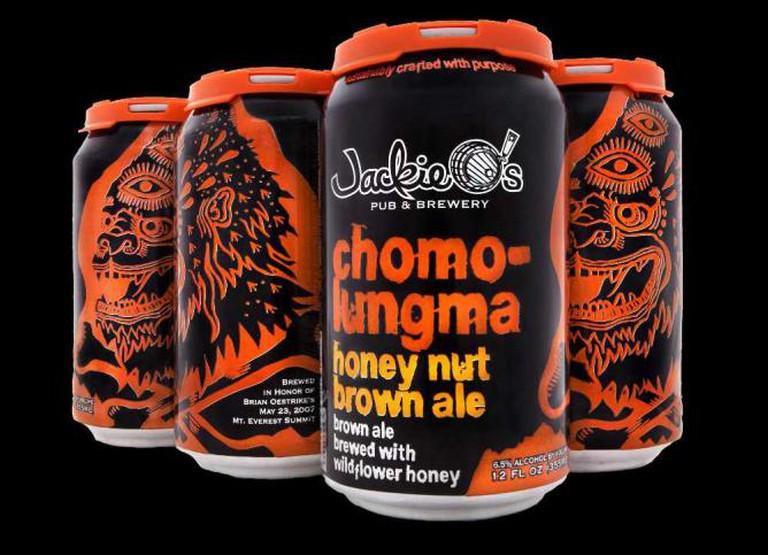Jackie O's Chomolungma Honey Nut Brown Ale
