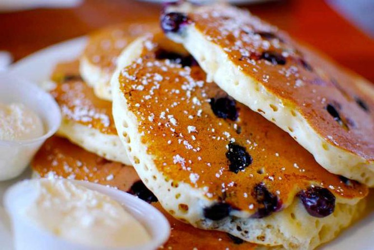 Blue Berry Pancakes | © ninacoco/Flickr