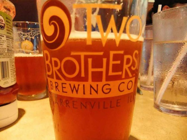 Two Brothers Artisan Brewing   © The Cut/Flickr