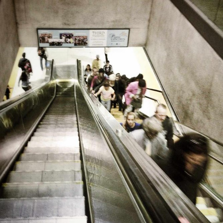 Bart escalator   ©jereme rauckman/flickr