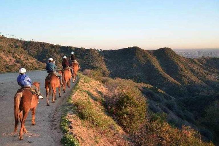 Sunset Ranch Hollywood Horseback Riding