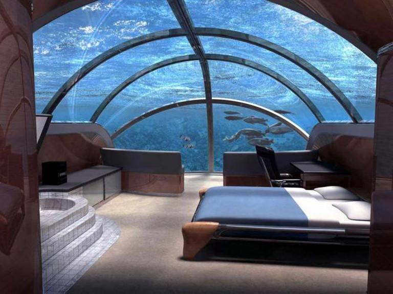 Underwater Hotel | © Nikkibs/Wikicommons