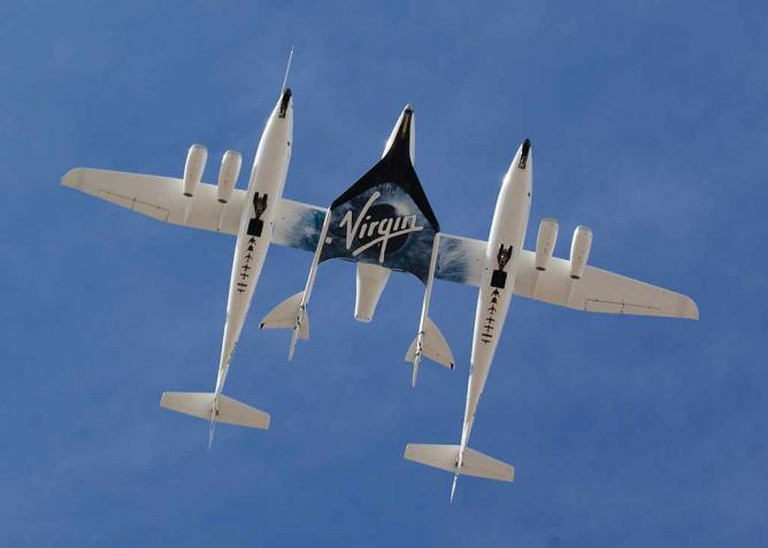 Virgin Galactic Aircraft | © Jeff Foust/Wikicommons