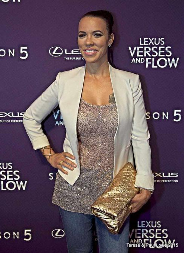 """Shamicka Lawrence of """"Hollywood Exes"""" in attendance"""