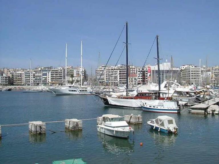 Piraeus harbor | © Sekundenschlaf/WikiCommons