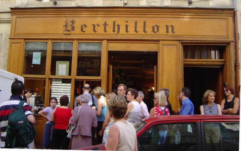 Berthillon storefront | © David Monniaux/WikiCommons