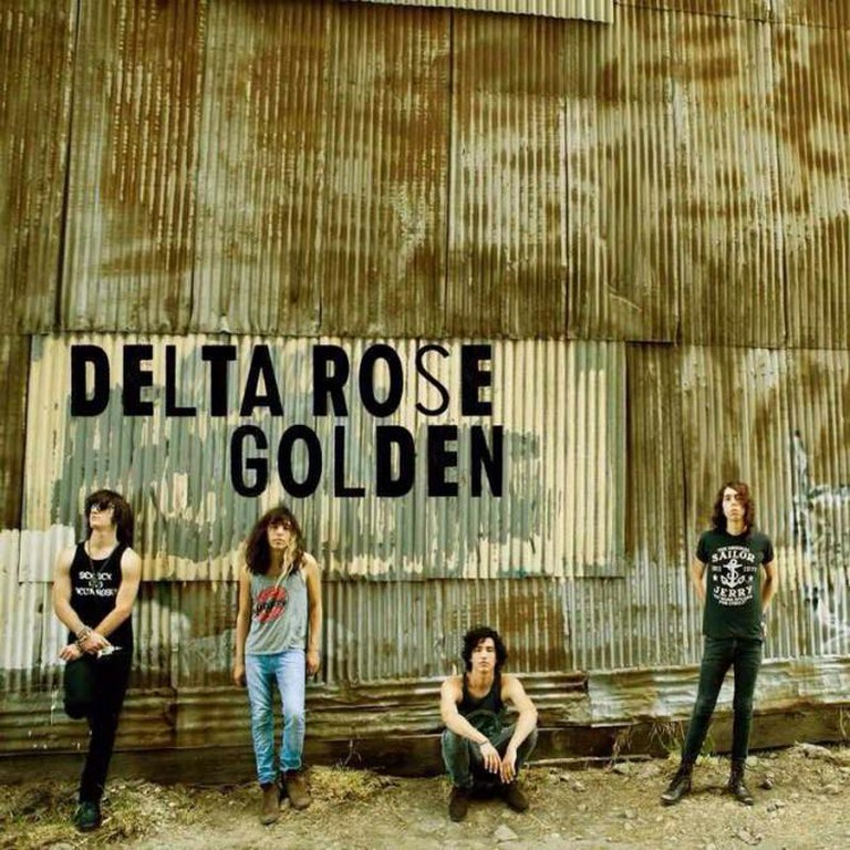 Delta Rose 'Golden' Album Art
