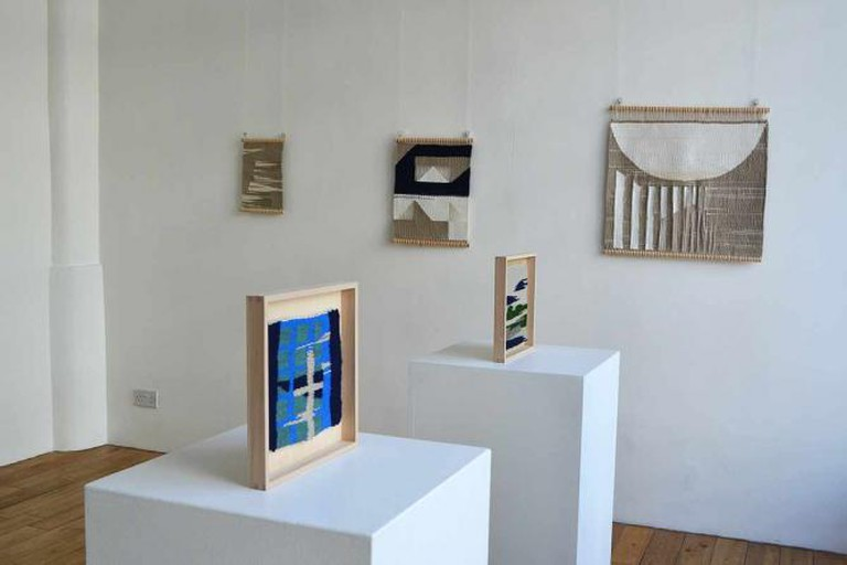 """Christabel Balfour: Simple Cities"", 2015 (installation view)"