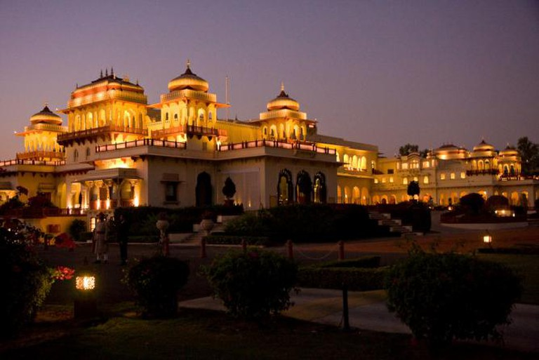 Rambagh Palace | © Garrett Ziegler/Flickr