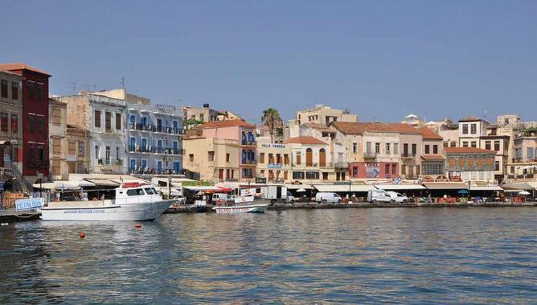 The old harbour of Chania | © Marc Ryckaert/WikiCommons