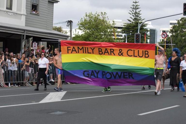 Family Bar at Auckland Pride © Kiran Foster/Flickr