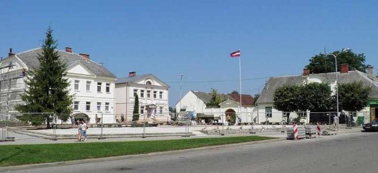 Kraslava's Center | © bontrager/WikimediaCommons