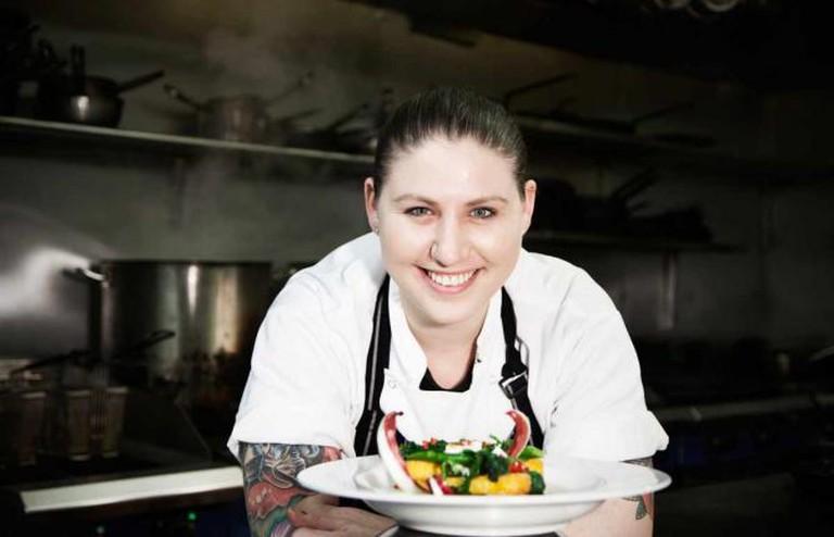 Head chef Cat Ashton courtesy of Anteater PR.