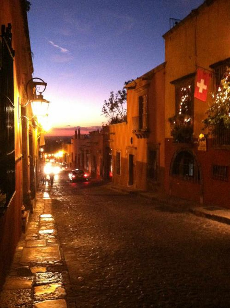 Sunset in San Miguel de Allende | Courtesy of JoAnneh Nagler