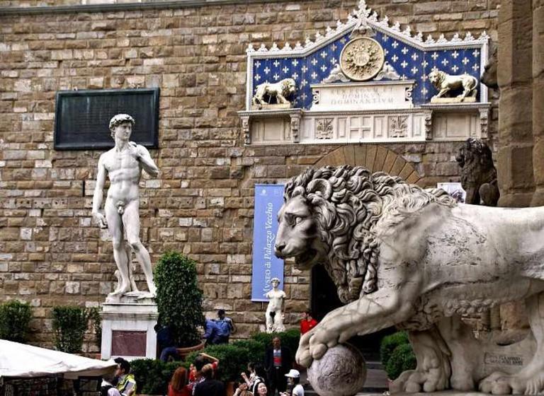 Piazza della Signora, Florence | © HEN-Magonza/Flickr