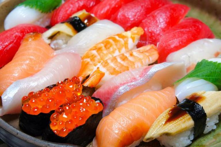 Sushi | © kana hata/Flickr