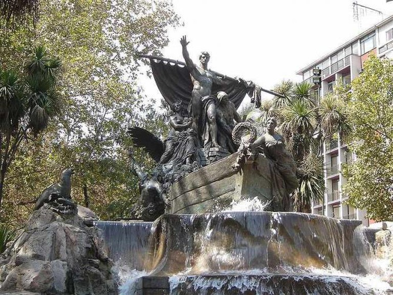 The German Fountain in Parque Forestal | © silvernet2/WikiCommons