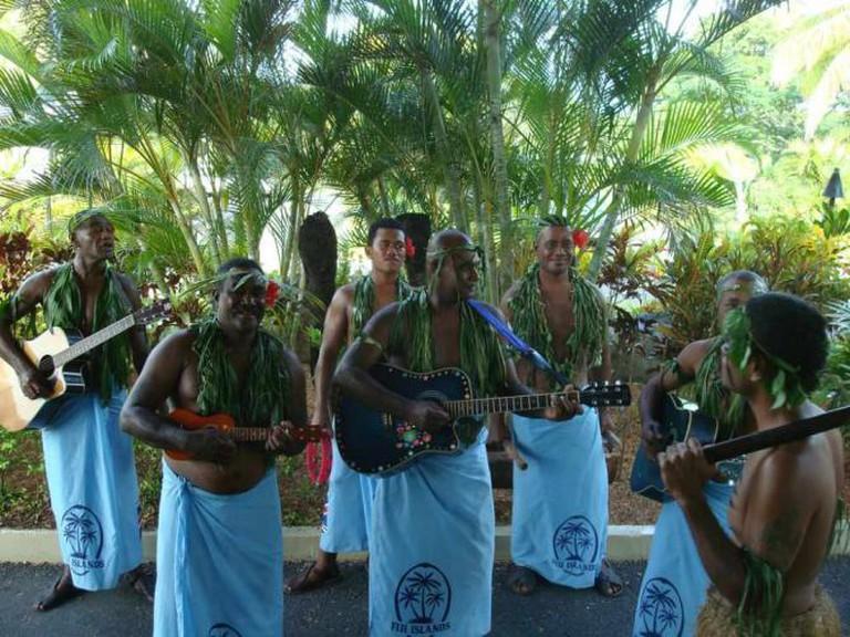 Fijian Musicians | © Kay Adams/Flickr
