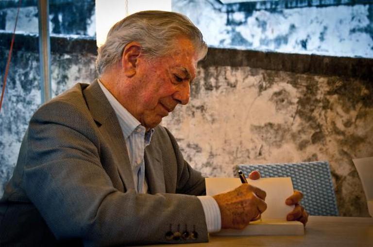 Mario Vargas Llosa | © Daniele Devoti/Flickr
