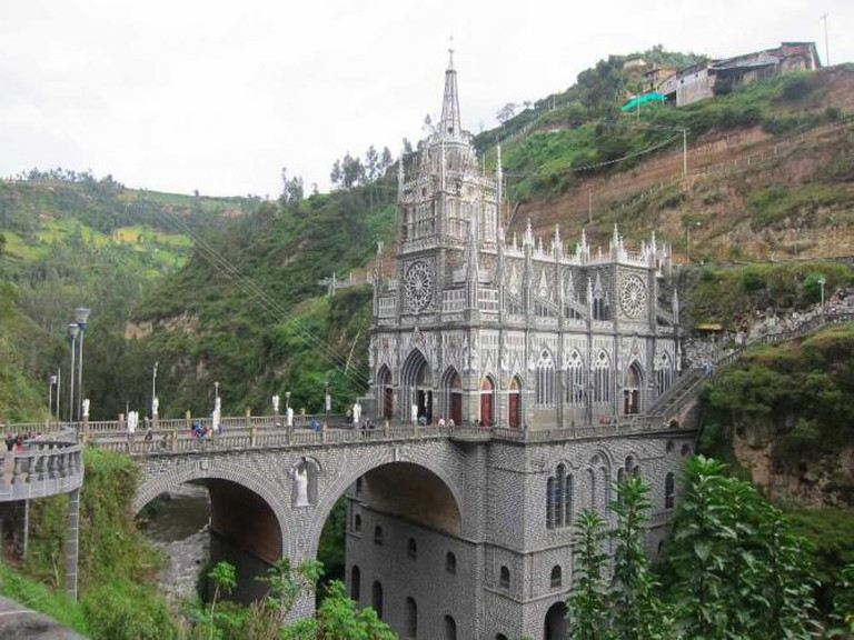 Las Lajas Sanctuary | © Kurt Waldhauser/Flickr