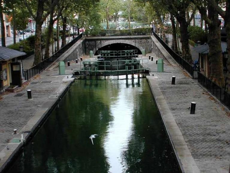 Canal Saint-Martin | © Atlant/WikiCommons