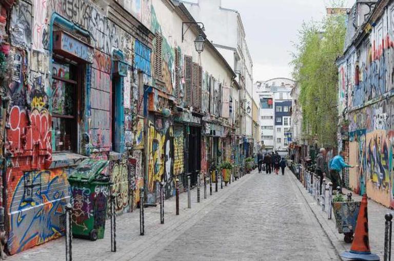 La rue Dénoyez | © Myrabella/WikiCommons